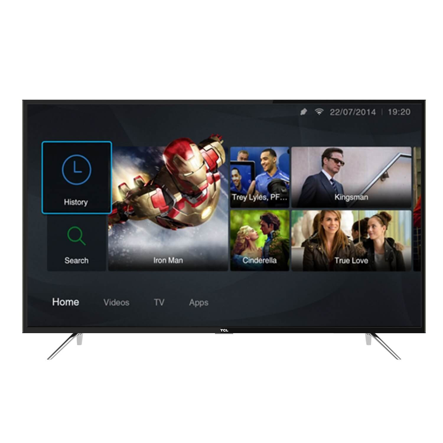 TCL 49 SMART DIGITAL FULL HD LED TV- 49S6201
