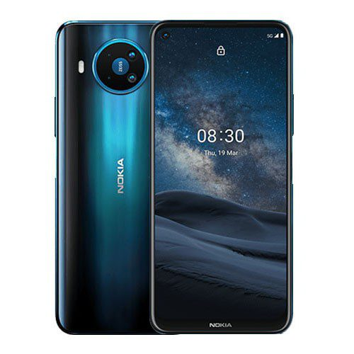 Nokia 8.3 5G 8GB + 128GB front and back display | Best prices at Mobilehub Kenya
