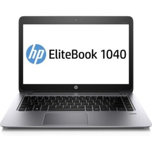 Refurbished HP EliteBook Folio 1040 G1 Ultrabook Core i5 4300U@1.9 GHz 8GB RAM 256GB SSD Win 10 Pro 14″ Touchscreen