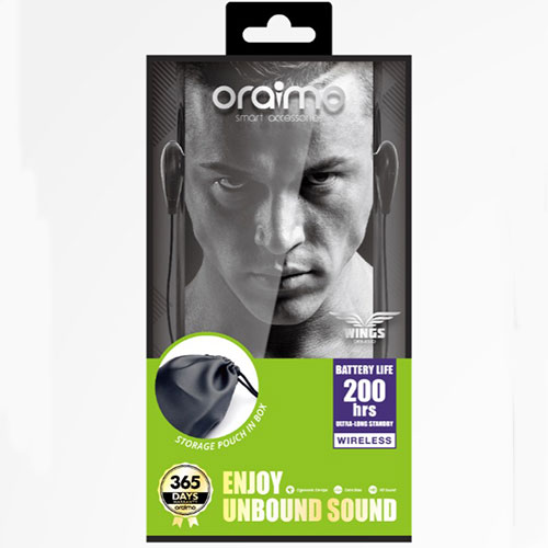 Oraimo Wings (OEB-E53D) Bluetooth Earphone