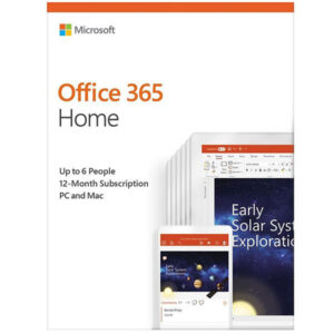 Microsoft Office 365 Home (32/64-bit, 6 Users, 1Year)