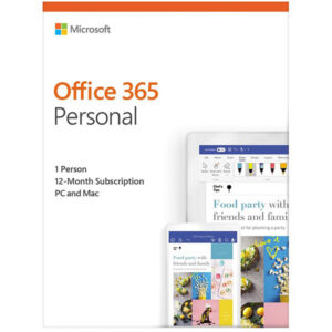 Microsoft Office 365 Personal (32/64-bit, 1 User, 1Year)