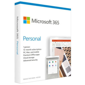 Microsoft Office 365 Personal English (1 User 1 Year)