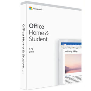 Microsoft Office Home and Student 2019 English (1 User 1 Year)