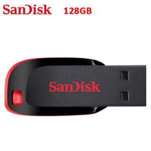 Sandisk Cruzer Blade Flash Disk: 128GB