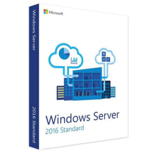 Windows server 2016 standard x64 Eng 1pk Dsp 16 core