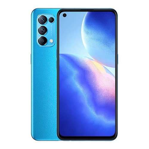 Oppo Reno 5 Front and Back Display