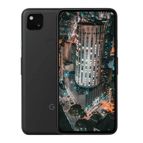 Google Pixel 4A Back and Front Display