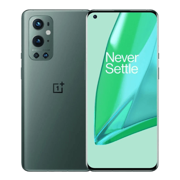 Oneplus 9 Pro 6.7inch 12GB RAM + 256GB storage front display Pint Green  | Best prices at Mobilehub